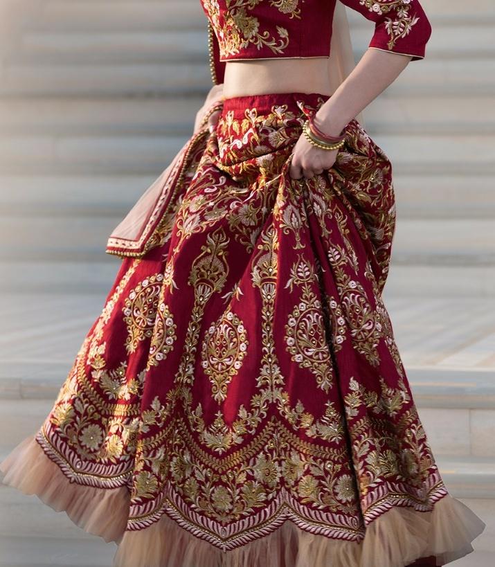 Gulzar Bridal Lehanga Collection Wholesale Rate Supplier