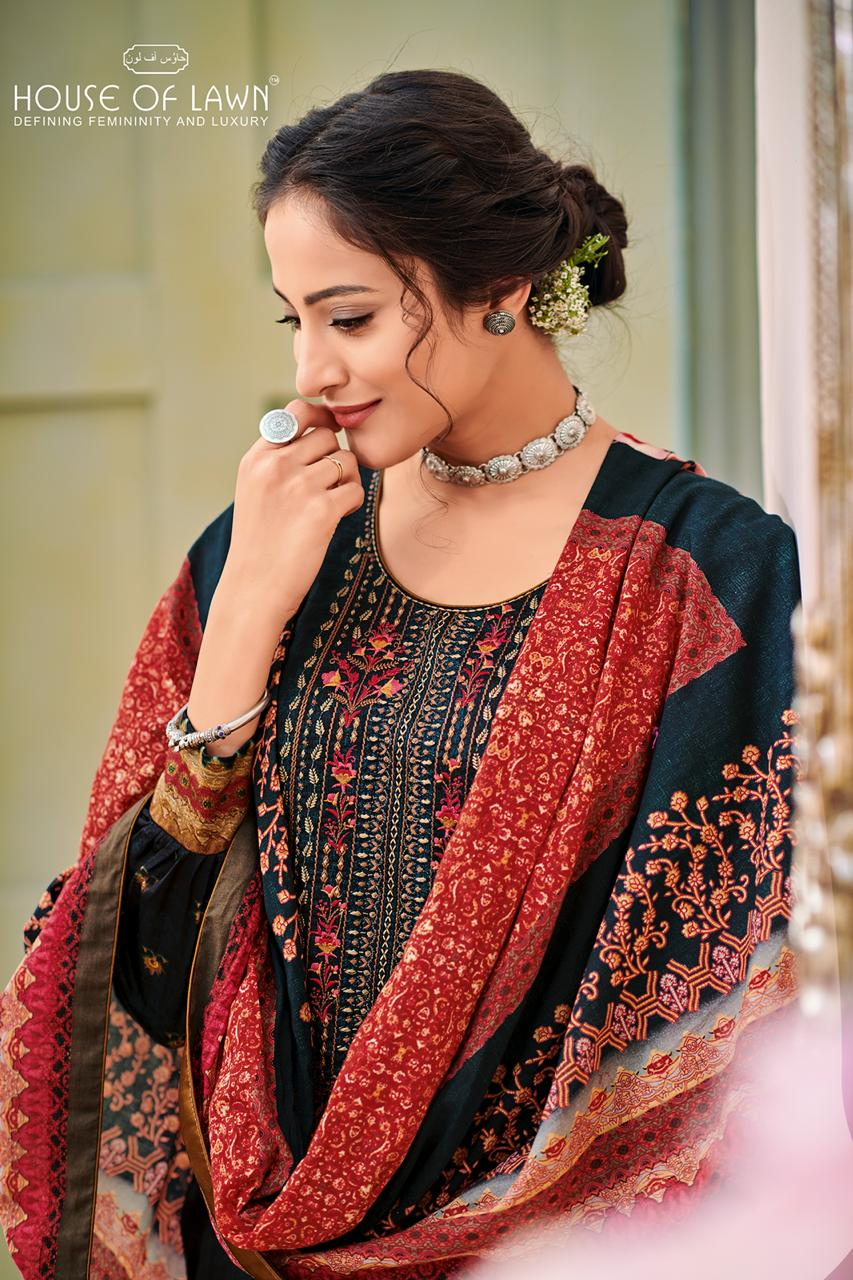 989d6ddd03 House of lawn naitra designer Pakistani suits collection wholesaler